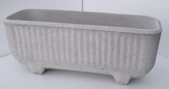 Recinzioni Per Giardino In Cemento.Fioriera Recinzione Vaso Vaschetta In Cemento 525 Marmo Pietra 118