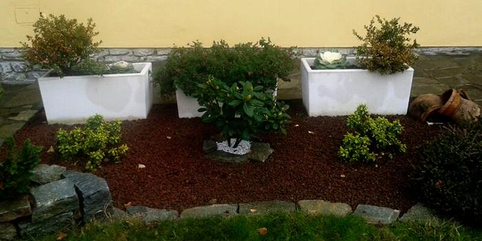 Vasi e fioriere da esterno in cemento e graniglia torino - Vasi rettangolari da esterno ...