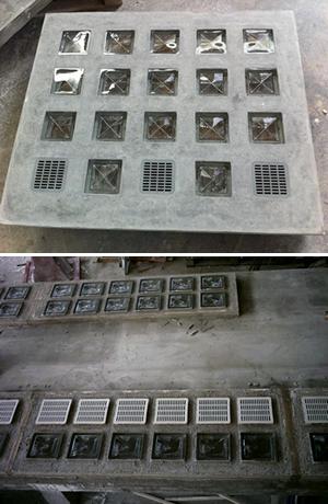 Vendita vetrocemento pedonabili e da parete su misura - Finestra vetrocemento ...